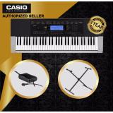 New Authorized Seller Casio Ctk 4400 61 Keys Standard Keyboard Piano With Casio Original Keyboard Stand Cs2X