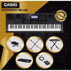 Discount Authorized Seller Casio Wk 7600 76 Keys High Grade Keyboard Piano With Casio Original Keyboard Stand Cs2X And Keyboard Bench And Gator Keyboard Cover Gkc1540 And Casio Sustain Pedal Sp3 Casio Singapore
