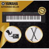 Best Reviews Of Authorized Seller Yamaha Np 12 Piaggero 61 Keys Portable Keyboard Piano Black With Keyboard Stand