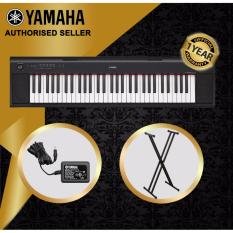 Authorized Seller Yamaha Np 12 Piaggero 61 Keys Portable Keyboard Piano Black With Keyboard Stand Review