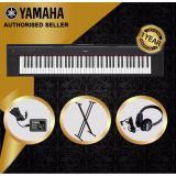 Cheaper Authorized Seller Yamaha Np 32 Piaggero 76 Keys Portable Keyboard Black With Keyboard Stand And Yamaha Headphones
