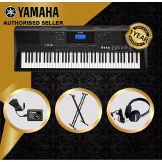 Authorized Seller Yamaha Psr Ew400 76 Keys Portable Keyboard Piano With Keyboard Stand And Yamaha Headphones On Singapore