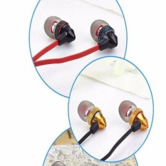 BIDENUO G500 Metal Wire Headset In-ear Earphone With Microphone for Cellphone Tablet - intl