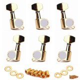 Bolehdeals Electric Folk Guitar Tuning Pegs Tuners Machine Head Inline Golden 6R Export For Sale Online