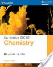 Cambridge IGCSE (R) Chemistry Revision Guide (Author: Roger Norris, ISBN: 9781107697997)
