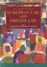 Cases, Materials and Text on European Law and Private Law (Author: , ISBN: 9781509911875)