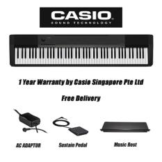 Discount Casio Cdp 130 Bk Contemporary Digital Piano Black Keyboard Only Singapore