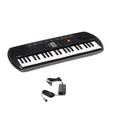 Casio Sa 77 Mini Keyboard With Ac Adaptor Grey For Sale