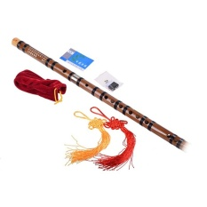 Chinese Bamboo Flute Dizi G Key+flute Bag+flute Glue+flute Membrane - Intl By Costel.