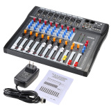 Sale Ct80S Usb 8 Channel Digtal Mic Line Audio Mixing Mixer Console With 48V Phantom Power For Recording Dj Stage Karaoke Music Appreciation Outdoorfree Intl On Singapore