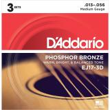 Price D Addario Ej17 Phosphor Bronze Acoustic Guitar Strings Medium Online Singapore
