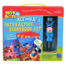 Educational Insights Hot Dots Jr Ace & Kat Set