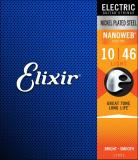 Recent Elixir Nanoweb Electric Guitar Strings Light 10 46
