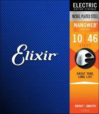 Cheaper Elixir Nanoweb Electric Guitar Strings Light 10 46
