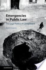 Emergencies in Public Law (Author: Karin Loevy, ISBN: 9781107123847)
