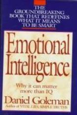 Emotional Intelligence (Author: Daniel Goleman, ISBN: 9780747528302)