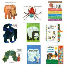 Eric Carle Books (Mini Library)