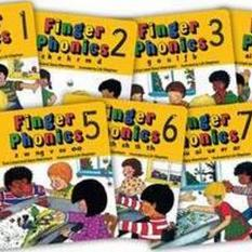 Finger Phonics books 1-7 (Author: Sara Wernham, Sue Lloyd, ISBN: 9781870946315)