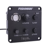 Compare Price Fishman Isys Acoustic Guitar Pickup Preamp Eq Tuner Guitar Pickups Intl On China