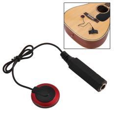 fitTek Piezo Contact Microphone Pickup for Guitar Violin Ukulele Mandolin Benjo (EXPORT)