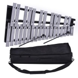 Foldable 30 Note Glockenspiel Xylophone Wooden Frame Aluminum Bars Educational Percussion Musical Instrument Gift With Carrying Bag Outdoorfree Intl Best Price