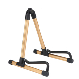 Discounted Folding Electric Acoustic Bass Guitar Stand Gold Export