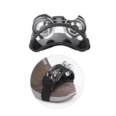 Foot Tambourine Percussion Musical Instrument 2 Sets Metal Jingle Bell (export) By Tomtop.