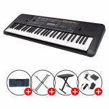 Full Bundle Yamaha Psr E263 Portable Keyboard Black With Piano X Stand X Bench Keyboard Bag Sustain Pedal Promo Code