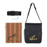 Retail Price Gecko C 68Z Portable Traveling Cajon Box Drum Hand Drum Wood Percussion Instrument With Strap Carrying Bag Intl