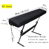 Sale Gl Nylon Piano Keyboard Dust Cover With Adjustable Cord Lock Keyboard Cover For 61 Keys Piano Keyboard Intl Oem Cheap