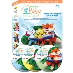 Hooked on Baby: Read and Rhyme 3-DVD Pack