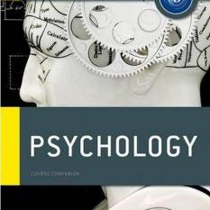 IB Psychology Course Book: Oxford IB Diploma Programme (Author: John Crane, Jette Hannibal, ISBN: 9780198389958)