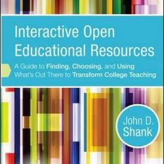 Interactive Open Educational Resources (Author: John D. Shank, ISBN: 9781118277454)