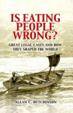 Is Eating People Wrong? (Author: Allan C. Hutchinson, ISBN: 9780521188517)