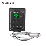 Joyo Je 306 5 Band Eq Equalizer Acoustic Guitar Piezo Pickup Preamp Tuner System With Lcd Display Intl Price