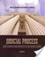 Judicial Process (Author: Stephen Scott Meinhold, David W. Neubauer, ISBN: 9781111357566)