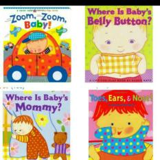 Karen Katz Lift the flap board books (Babys Mummy)