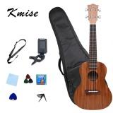 How To Get Kmise Ukulele Concert Ukelele 23 Inch Uke Hawaiian Hawaii Guitar Mahogany Free Gifts Intl