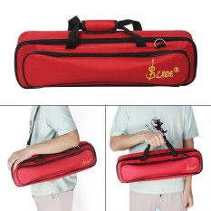 Lade Padded Flute Bag Backpack Soft Case Lightweight With Carry Handle Shoulder Strap - Intl By Tomtop.