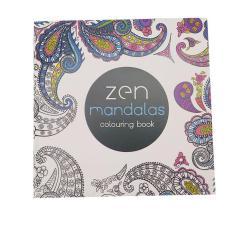 LALANG Secret Garden Zen Mandalas Painting Coloring Book English Edition 24 Pages