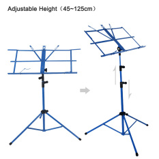 How Do I Get Lightweight Sheet Music Metal Stand Holder Folding Foldable With Waterproof Carry Bag