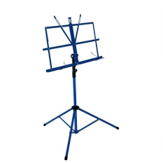 Best Lightweight Sheet Music Metal Stand Holder Folding Foldable With Waterproof Carry Bag Blue Outdoorfree Intl