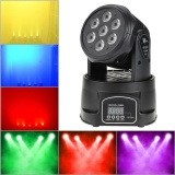 Sale Lixada Dmx 512 Mini Moving Head Light 4 In 1 Rgbw Led Stage Light Lighting Strobe Professional 9 14 Channels Party Disco Show 100W Ac 100 240V Sound Active Intl Hong Kong Sar China