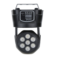 Buy Lixada Dmx 512 Mini Moving Head Light 4 In 1 Rgbw Led Stage Par Light Lighting Strobe Professional 9 14 Channels Party Disco Show 100W Ac 100 240V Sound Active Intl Cheap Hong Kong Sar China
