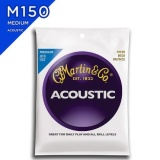 Sale Martin M150 80 20 Bronze Medium Acoustic Guitar Strings 013 056 Intl