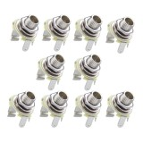 Who Sells Mega 10Pcs Mono 1 4Inch Jack Socket For Lp Tl Electric Guitar Bass Cheap