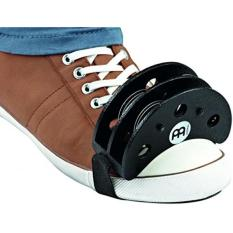 Purchase Meinl Percussion Fjs2S Bk Cajon Players Foot Tambourine With Steel Jingles Black
