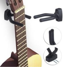 Great Deal Mhs Guitar Bass Violin Erhu Wall Mount Hanger Holder Standrack Hooks Black Intl