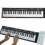 Sale Mini 49 Keys Roll Up Electronic Flexible Folding Keyboard Piano Soft Handscroll China