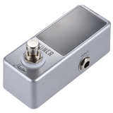 Retail Price Mini Chromatic Tuner Pedal Effect Led Display True Bypass For Guitar Bass Outdoorfree